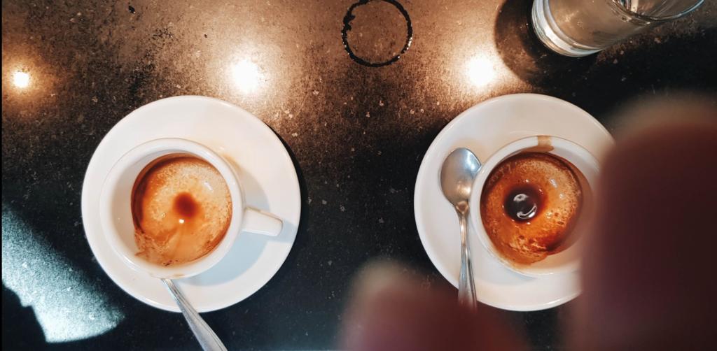Эспрессо в итальянской деревне